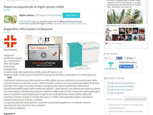 PriceCrawler per FogliettoIllustrativo.Net